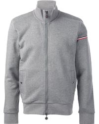 Moncler Funnel Neck Sweatshirt - Lyst