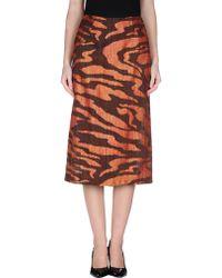 Missoni 34 Length Skirt - Lyst