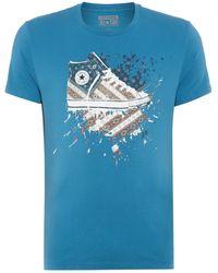 Converse Chuck Sketch Graphic T-Shirt - Lyst