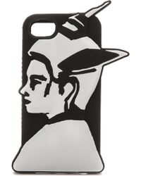 Marc By Marc Jacobs Iphone 5  5s Raised Silicone Girls Cases - Bea On A Mission - Lyst
