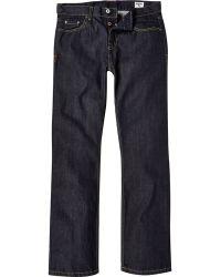 River Island Dark Wash Bellfield Straight Jeans - Lyst
