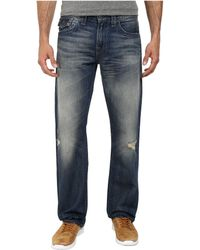 True Religion Ricky W/ Flap Quick Fade Jeans In Reckless Nomad - Lyst