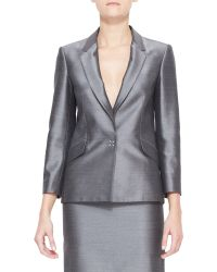 Alexander Wang Suiting Blazer With Sheen - Lyst