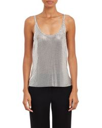 Paco Rabanne Chainmail Tank - Lyst