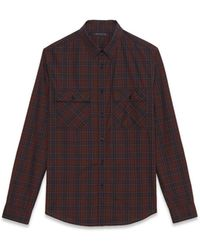 Theory Barham Shirt in Mirtle - Lyst