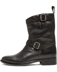 Belstaff Bedford Handwaxed Leather Boots - Lyst