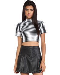 Mink Pink Cross Roads Skivvy Top - Lyst