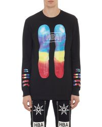 Hood By Air Chromosomes Long Sleeve T-Shirt - Lyst