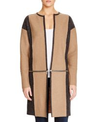 Love Scarlett - Colorblock Zip-off Jacket - Compare At $198 - Lyst