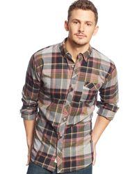 Levi's Mick Plaid Shirt - Lyst
