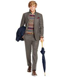 Polo Ralph Lauren Bedford Grey Flannel Suit - Lyst