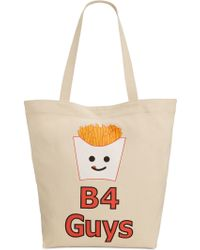 Circus by Sam Edelman - Fries B4 Guys Canvas Tote - Lyst