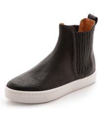 Loeffler Randall Crosby Chelsea Sneakers  Black - Lyst