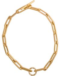 Linda Lee Johnson - Diamond Isabel Link Necklace - Lyst