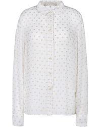 Stella McCartney White Wilson Shirt - Lyst
