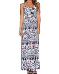 Amanda Uprichard Slit Gown - Lyst