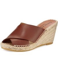 Bettye Muller Dijon Crisscross Wedge Sandal - Lyst