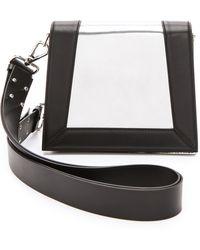 CoSTUME NATIONAL - Mirrored Leather Handbag  - Lyst