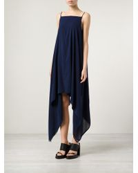 Gareth Pugh Blue Triangle Dress - Lyst