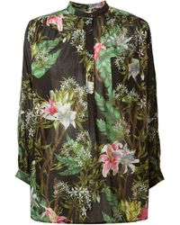 Etoile Isabel Marant Multicolor Willy Blouse - Lyst