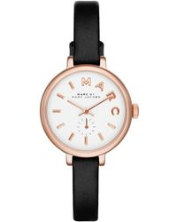 Marc By Marc Jacobs - Sally Leather 28mm Watch - Lyst