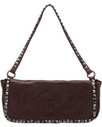 Campomaggi Studded Shoulder Bag - Lyst