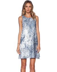 Sam Edelman Sequin Dress - Lyst