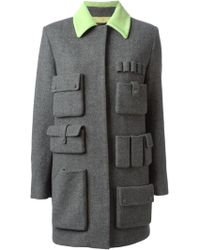 Alexander Wang Pocket Detailed Coat - Lyst