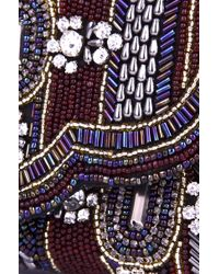 Akira Black Label - Palavi Hand Beaded Clutch - Lyst