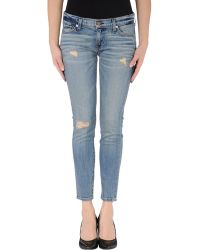Textile Elizabeth And James Denim Pants - Lyst