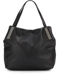 Vince Camuto Brody Leather Tote - Lyst