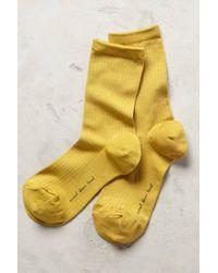 Hansel From Basel Silkworm Crew Socks - Lyst