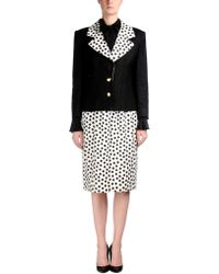 Givenchy Gray Womens Suit - Lyst