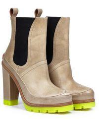 Hunter Original High Heel Chelsea Boots - Lyst