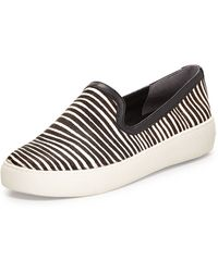 Sam Edelman Becker Zebra-print Calf Hair Slip-on - Lyst
