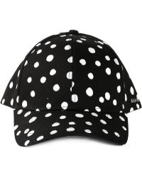 Stampd Black Dotted Cap - Lyst