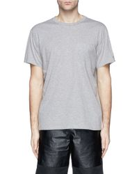 T By Alexander Wang Patch Pocket Cotton Jersey T-Shirt - Lyst