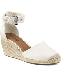 Sperry Top-Sider - Espadrille Wedge Sandals - Valencia Closed Toe - Lyst