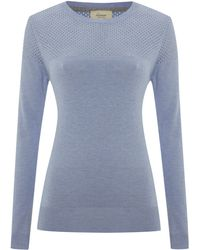 Linea Weekend Crew Neck Jumper - Lyst