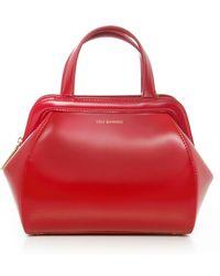 Lulu Guinness Patent Paula Shopper Bag - Lyst