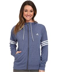 Adidas 2Love Full-Zip Hoodie - Lyst