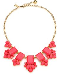 Kate Spade Daylight Jewels Cluster Necklace - Lyst