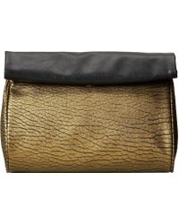 French Connection Spectrum Clutch - Lyst