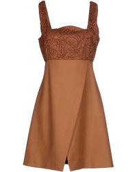 Au Jour Le Jour Short Dress - Lyst