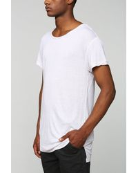 Feathers - Solid Long Tee - Lyst
