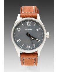 Tsovet - Leather Strap Watch - Lyst