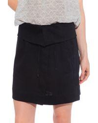 Vince Fold Skirt - Lyst