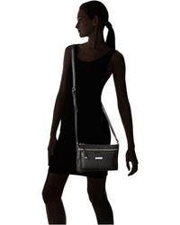 Calvin Klein Key Item Leather Crossbody - Lyst