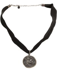 Beth Orduna - Circle Pendant Necklace - Lyst