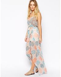Pepe Jeans - Cross Front Maxi Dress - Lyst